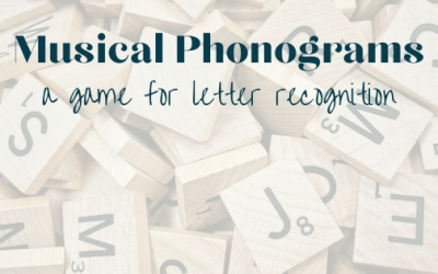 Musicals Phonograms  – a game for letter recognition