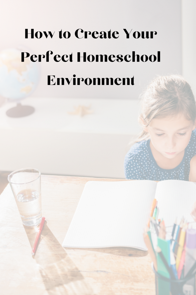 Create your homeschool space